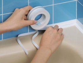Герметизация швов в ванной в Москве