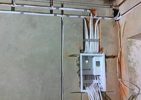 Монтаж электропроводки в Москве