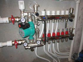 Монтаж гребенки отопления в Москве