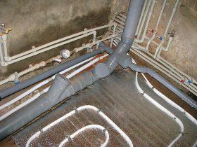 Монтаж канализационных труб в Москве