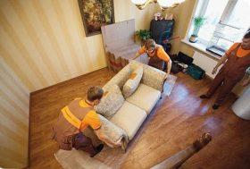 Перестановка мебели в квартире в Москве