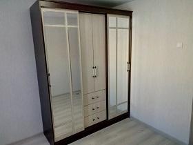 Сборка шкафа-купе с 2 дверями в Москве