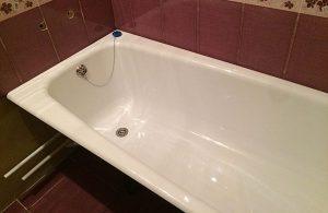 Установка чугунной ванны в Москве