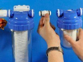 Установка фильтров для очистки воды в Москве
