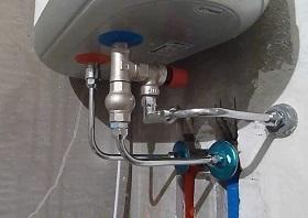 Установка водонагревателя в Москве