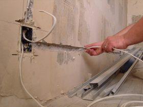 Замена проводки в квартире в Москве