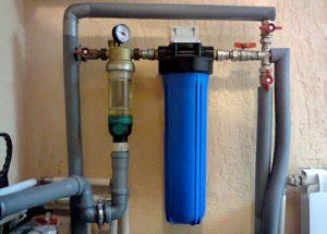Установка фильтров тонкой очистки воды в Москве