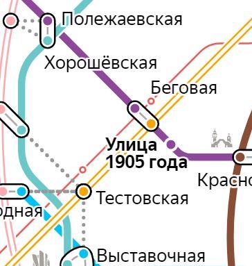 Услуги электрика – метро Улица 1905 года