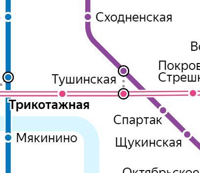 Услуги электрика – метро Трикотажная